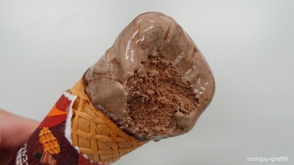 中身もチョコレート